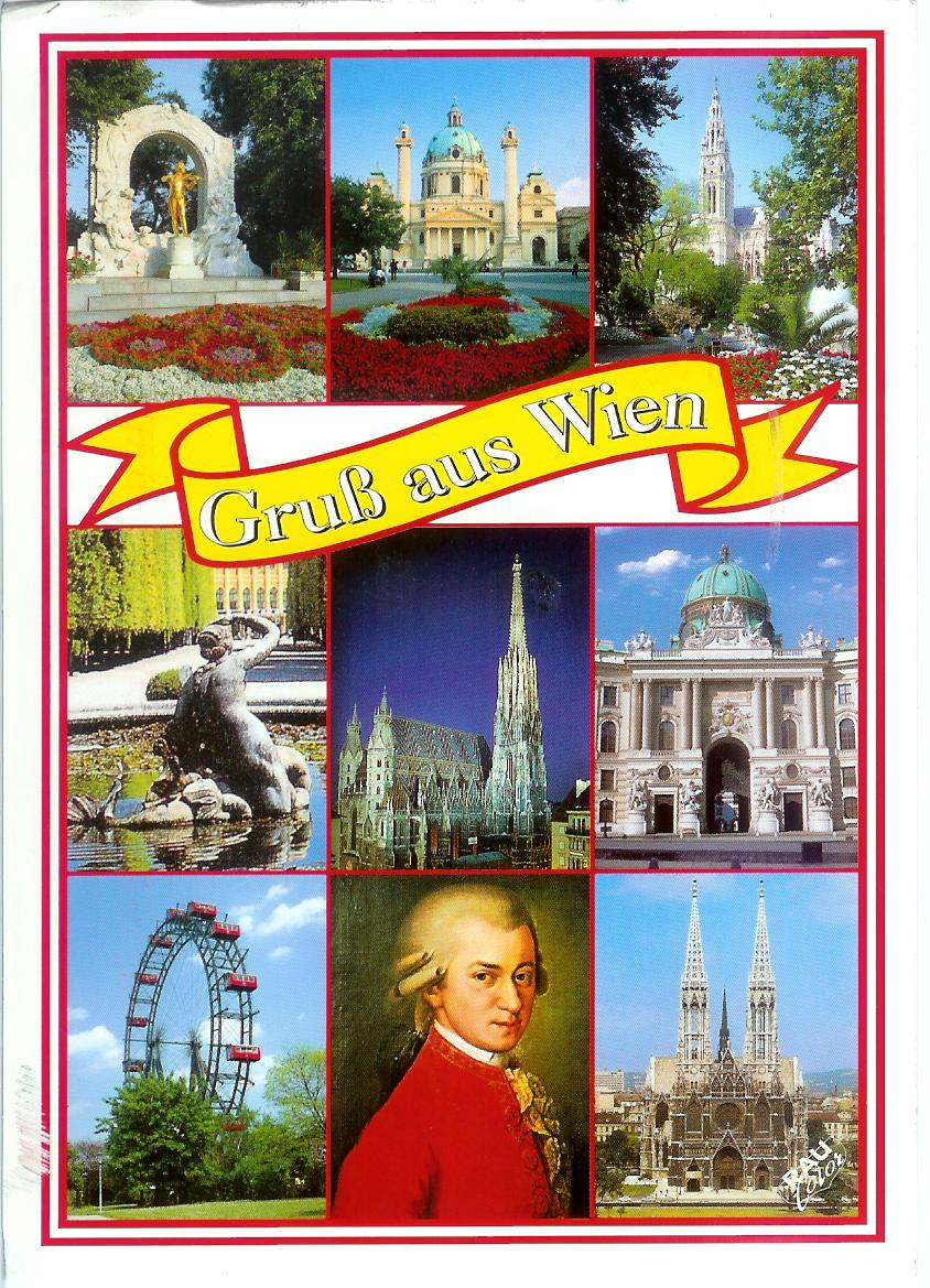 Austria Greeting From Vienna Remembering Letters And Postcards