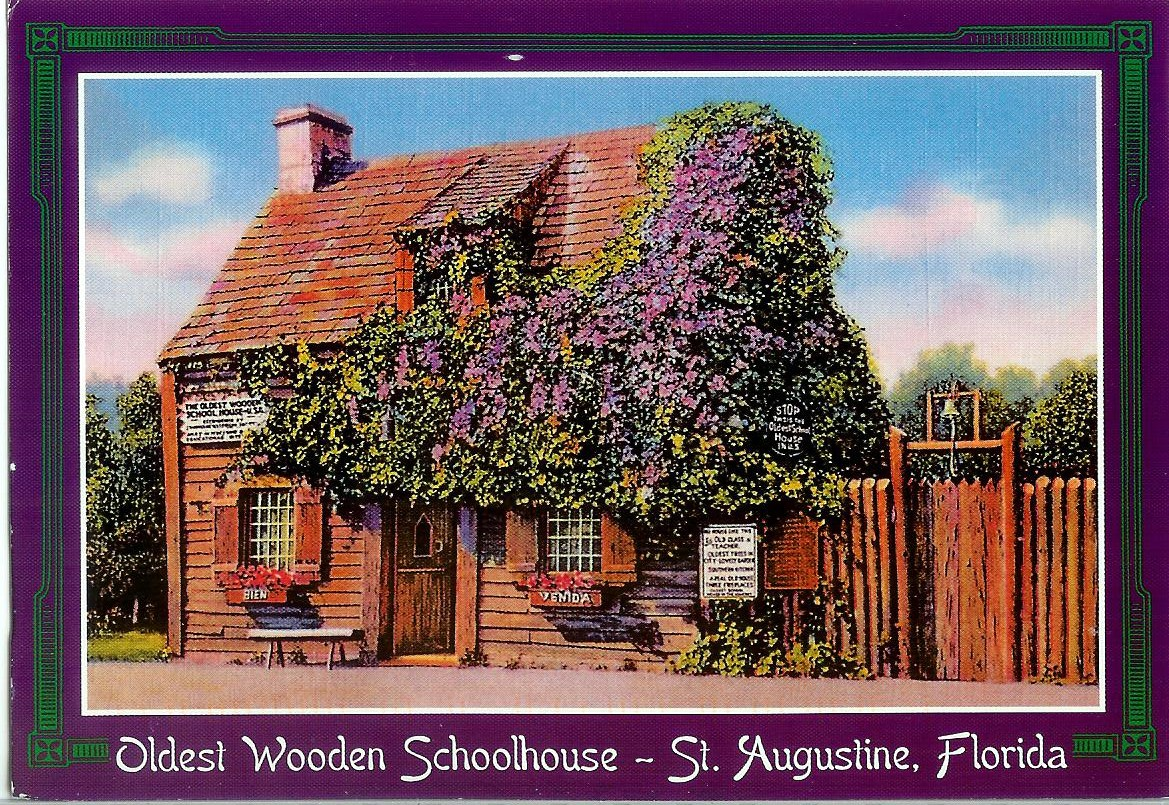 USA – Florida – Oldest Wooden Schoolhouse | Remembering