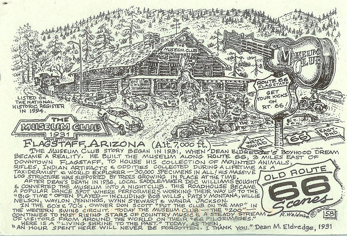 USA Route Remembering Letters And Postcards - Route 66 map usa