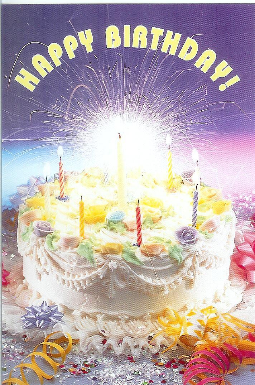 Happy Birthday Greetings Card With Music Simple Guitar Birthday