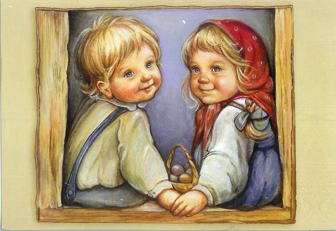 Russian Children ~ A. Larionova