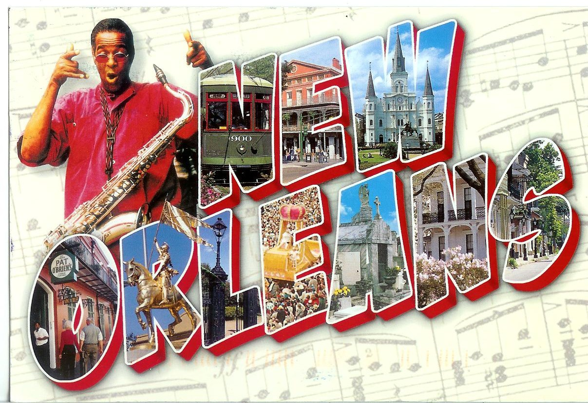 New Orleans Remembering Letters And Postcards