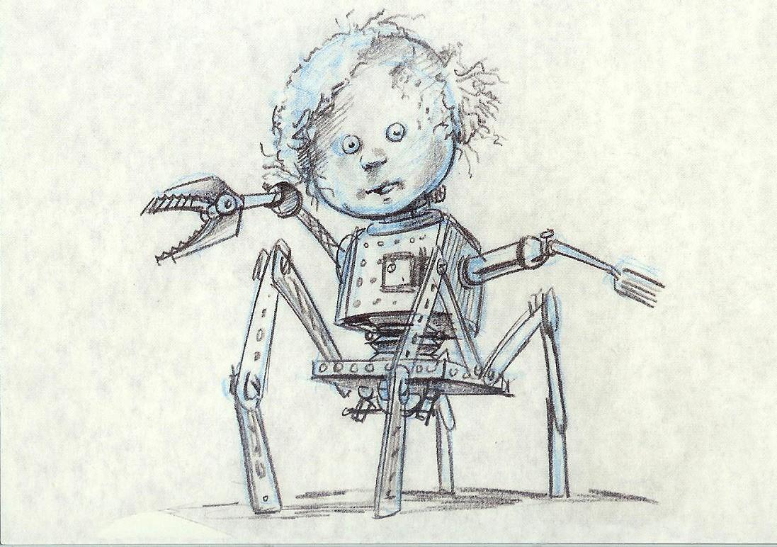Toy Story Original Concept Art Concept Art Mutant Toy