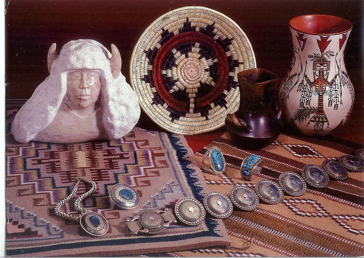Navajo indian art remembering letters and postcards for Indian arts and crafts