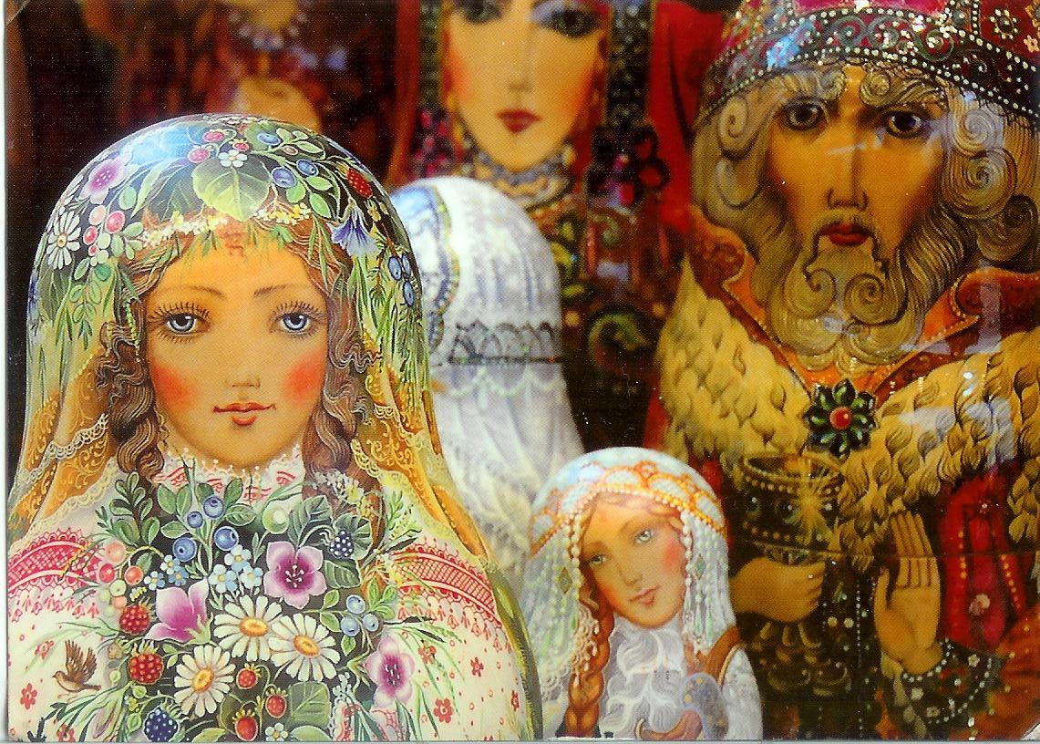 Russia matryoshka doll