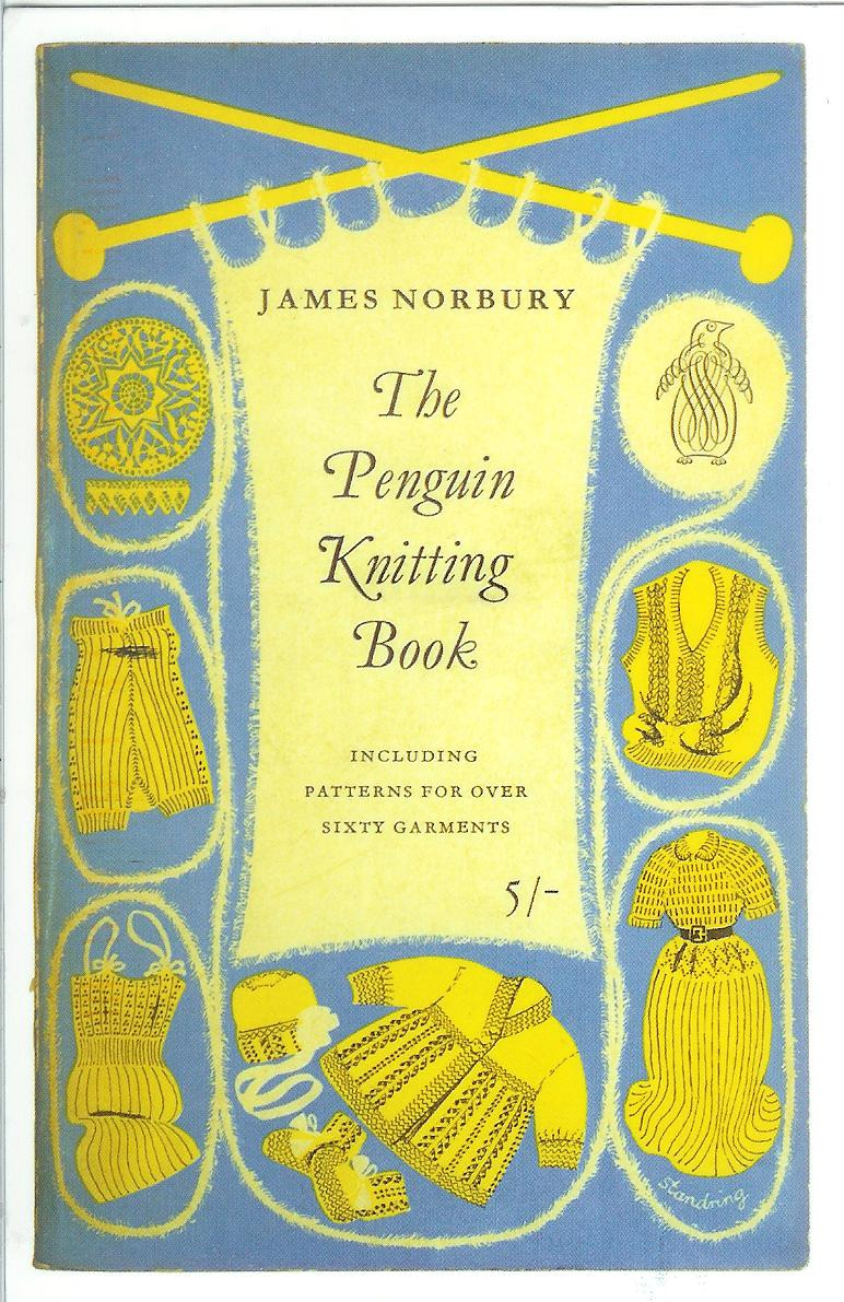 Penguin Book Cover Postcards ~ The penguin knitting book remembering letters and postcards