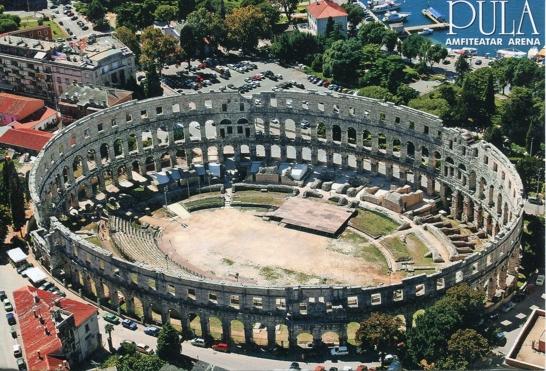 Pula Arena Croatia Remembering Letters And Postcards