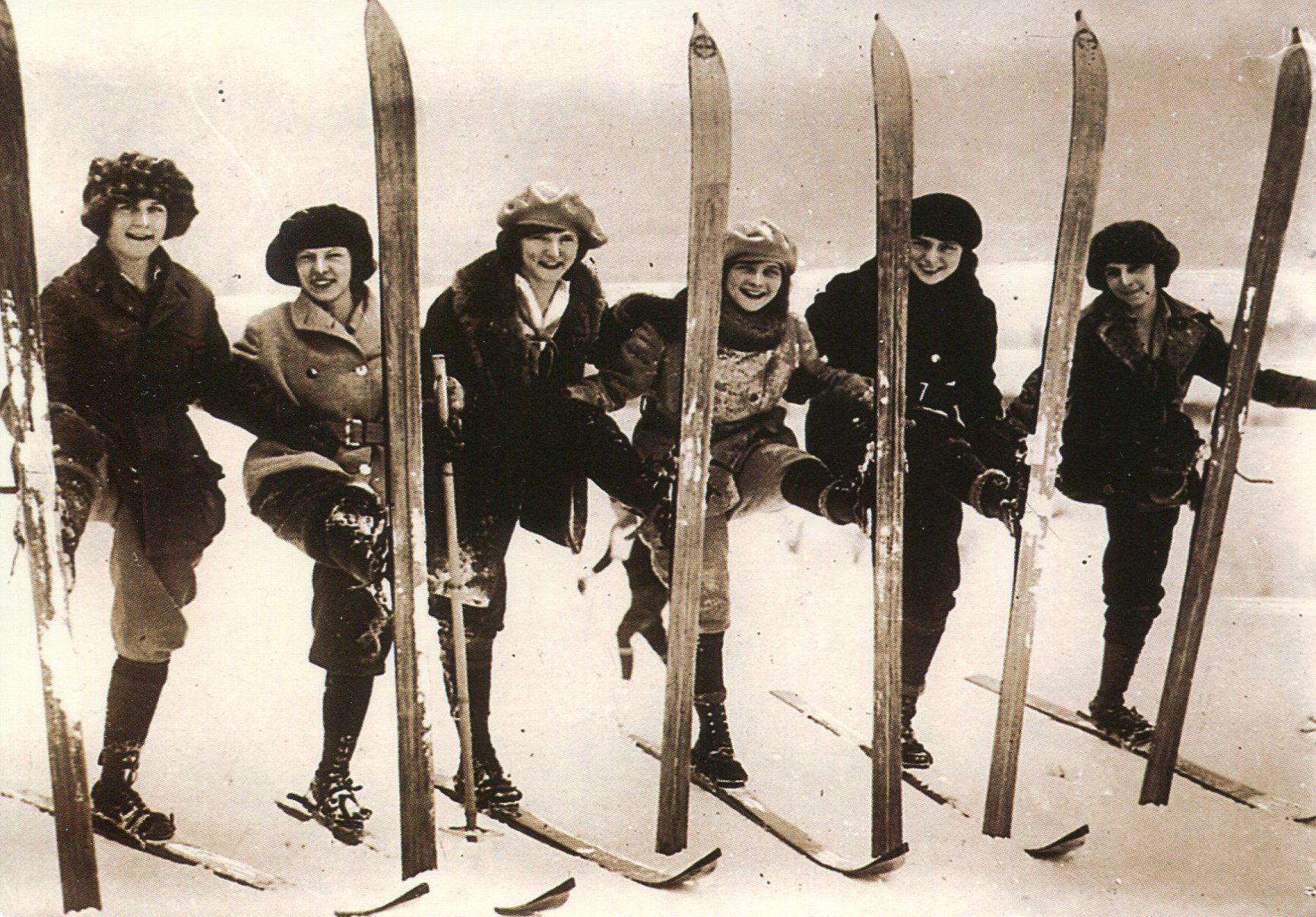 Old Fashioned Skis
