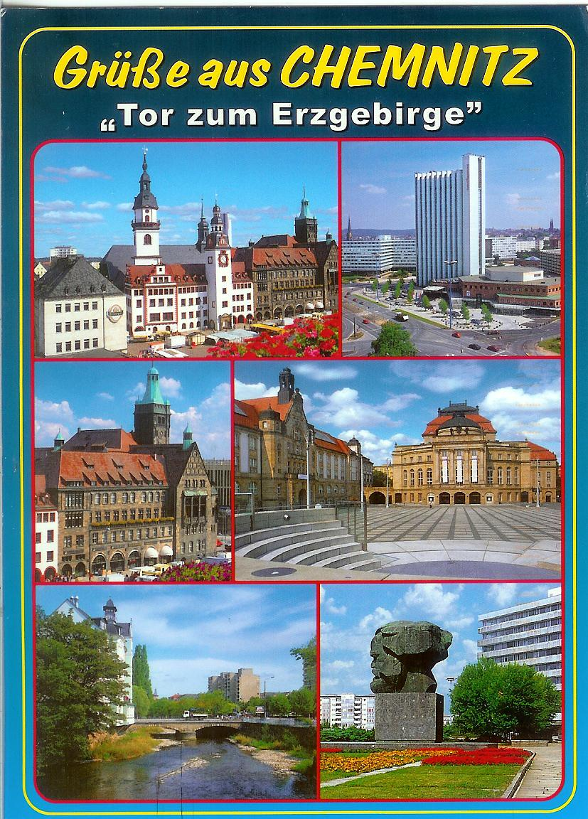 Chemnitz Germany  city images : Chemnitz, Germany | Remembering Letters and Postcards