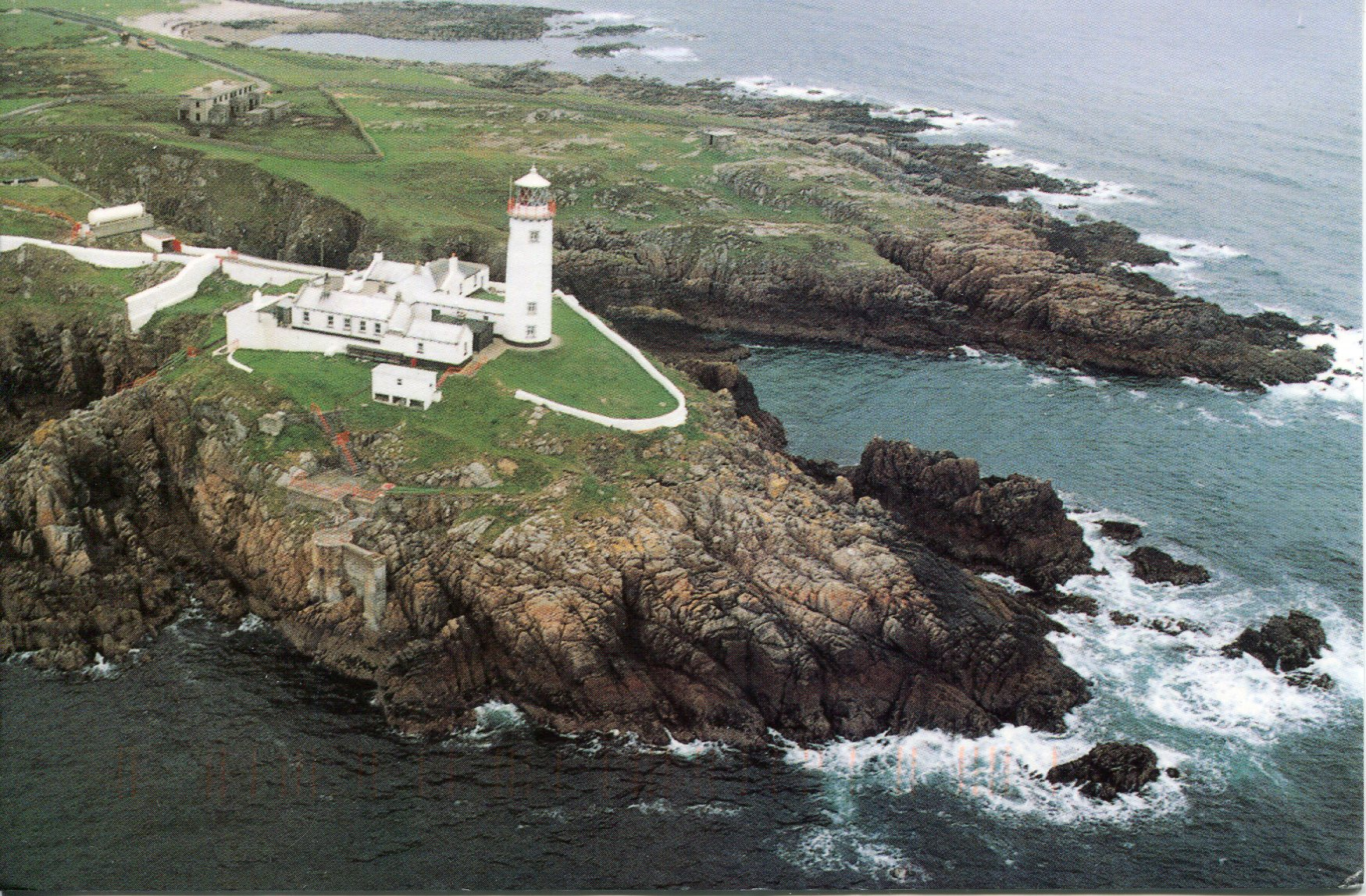 Lighthouses In Ireland Map.Fanad Head Lighthouse Remembering Letters And Postcards