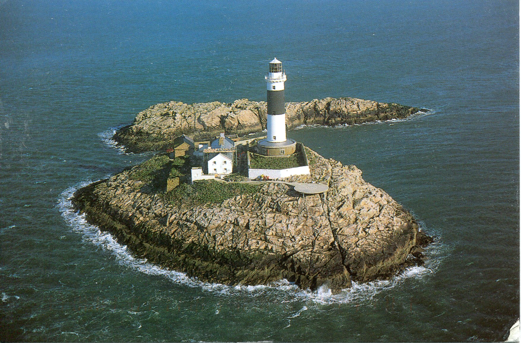 Lighthouses In Ireland Map.Rockabill Lighthouse Remembering Letters And Postcards