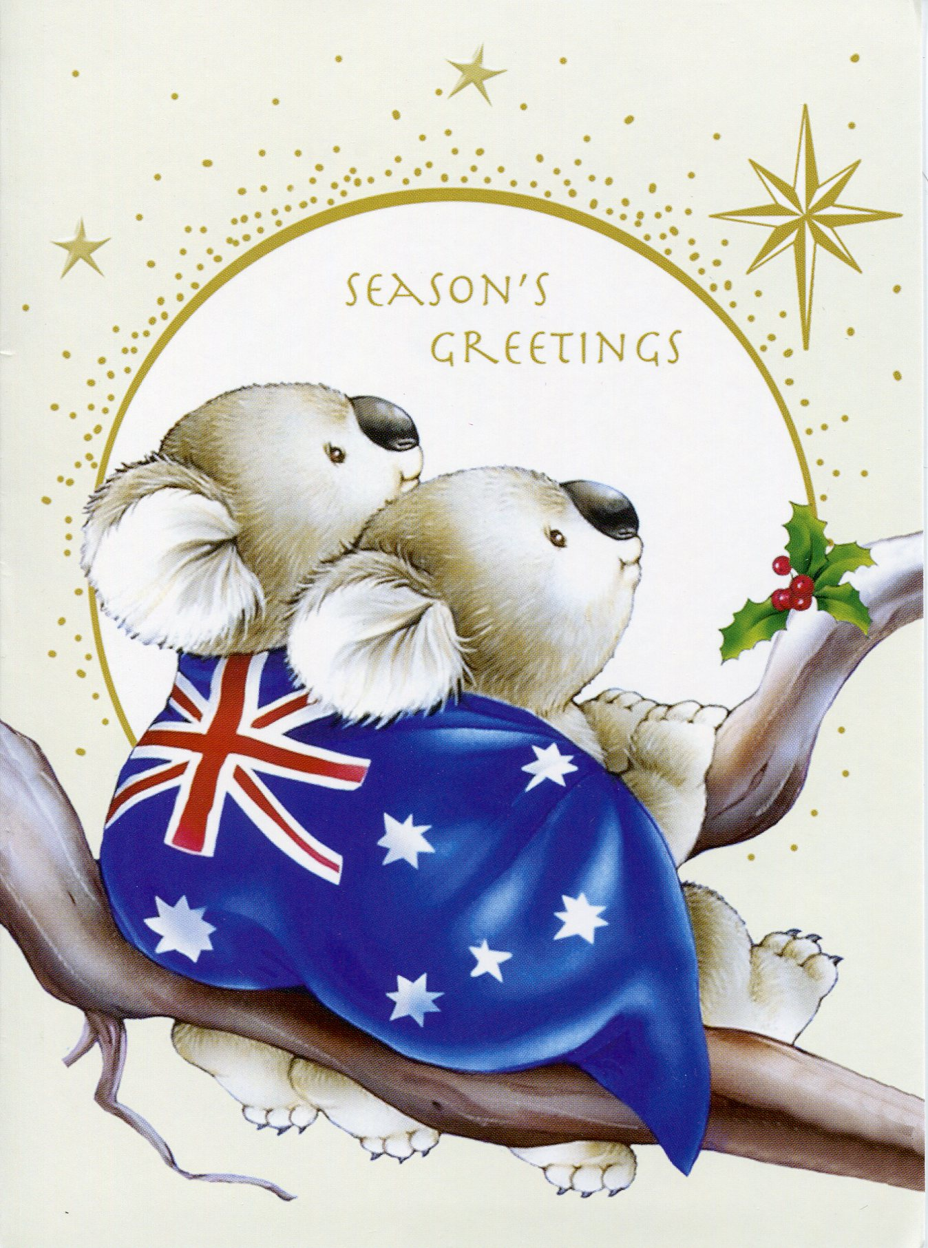 Seasons greetings from australia remembering letters and postcards seasons greetings m4hsunfo