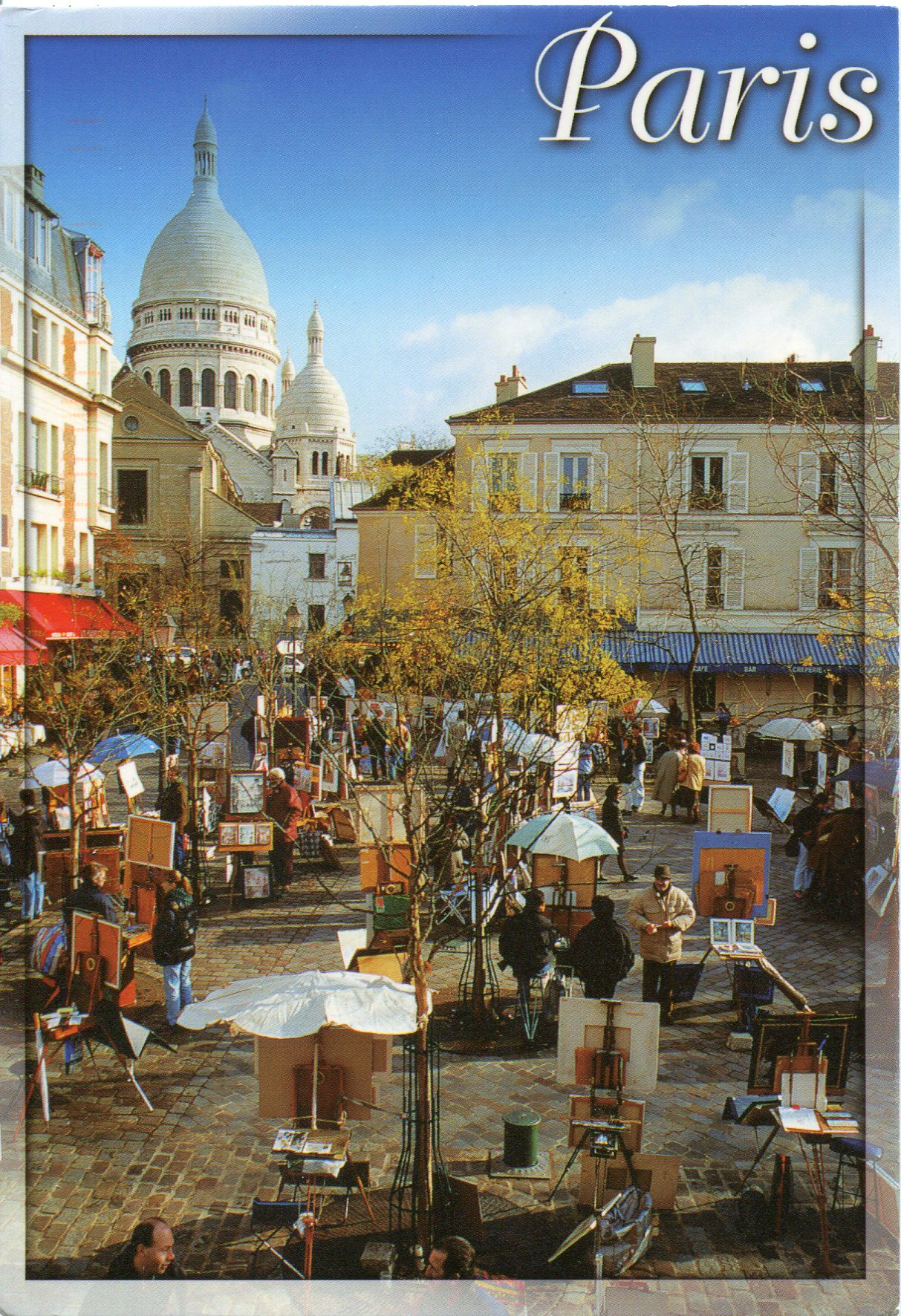 France paris montmartre
