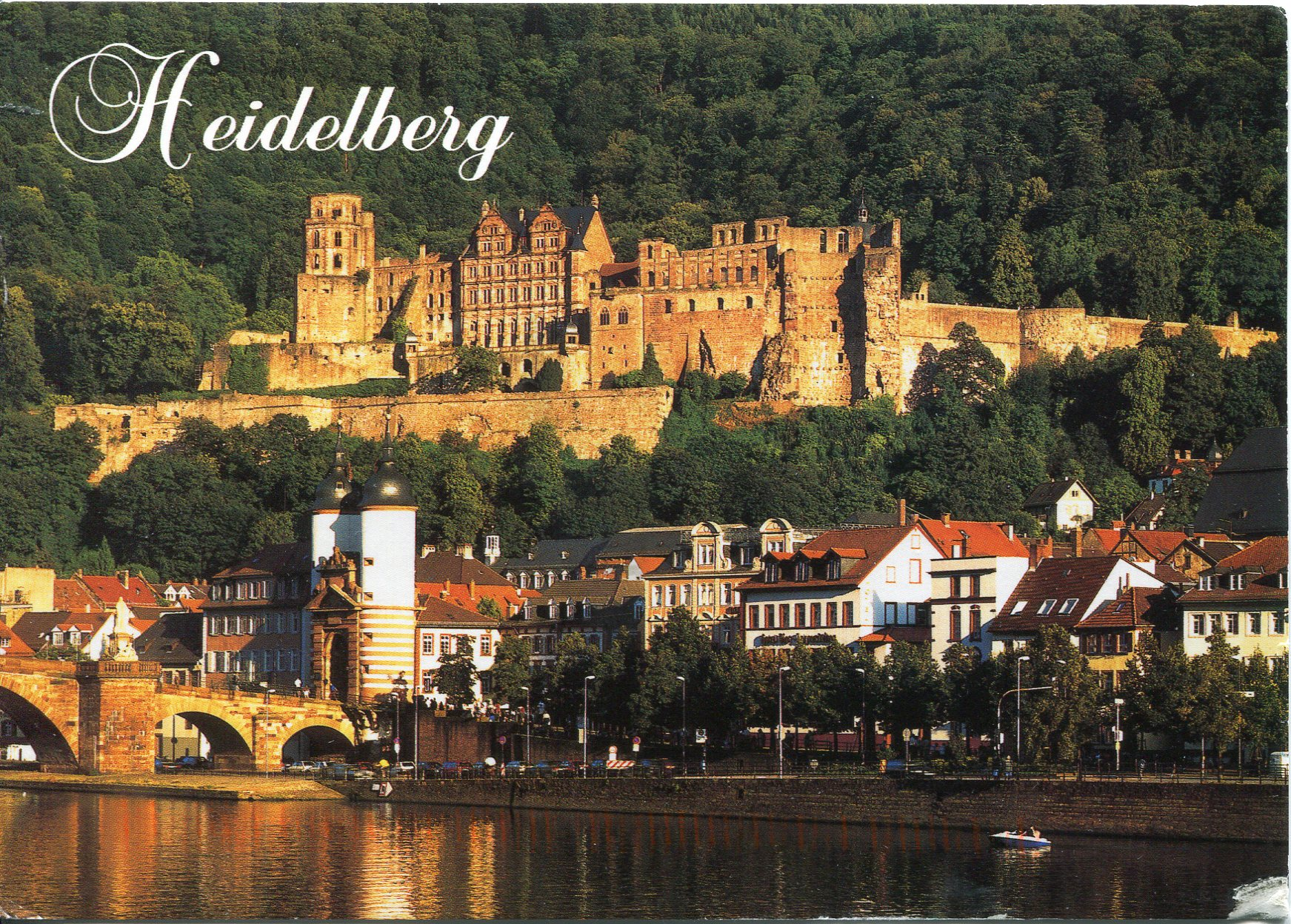 Heidelberg   Remembering Letters and Postcards