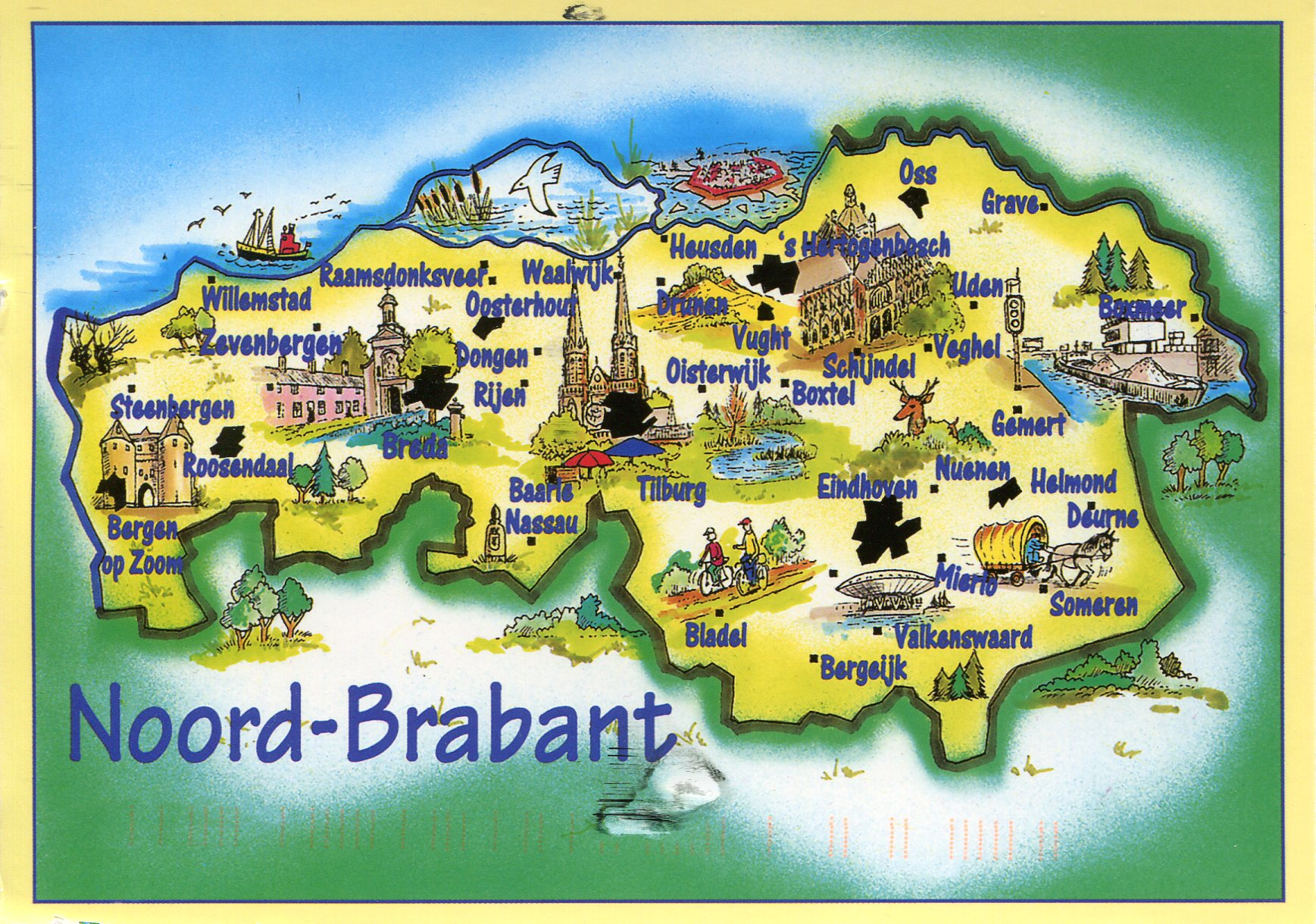 NoordBrabant Map Remembering Letters and Postcards
