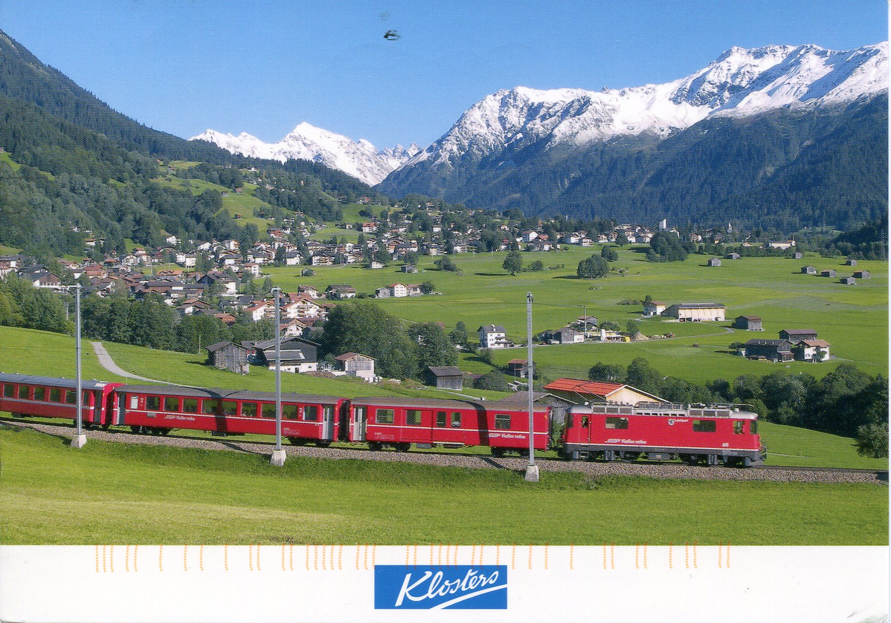 Klosters Switzerland  city pictures gallery : Klosters, Switzerland | Remembering Letters and Postcards