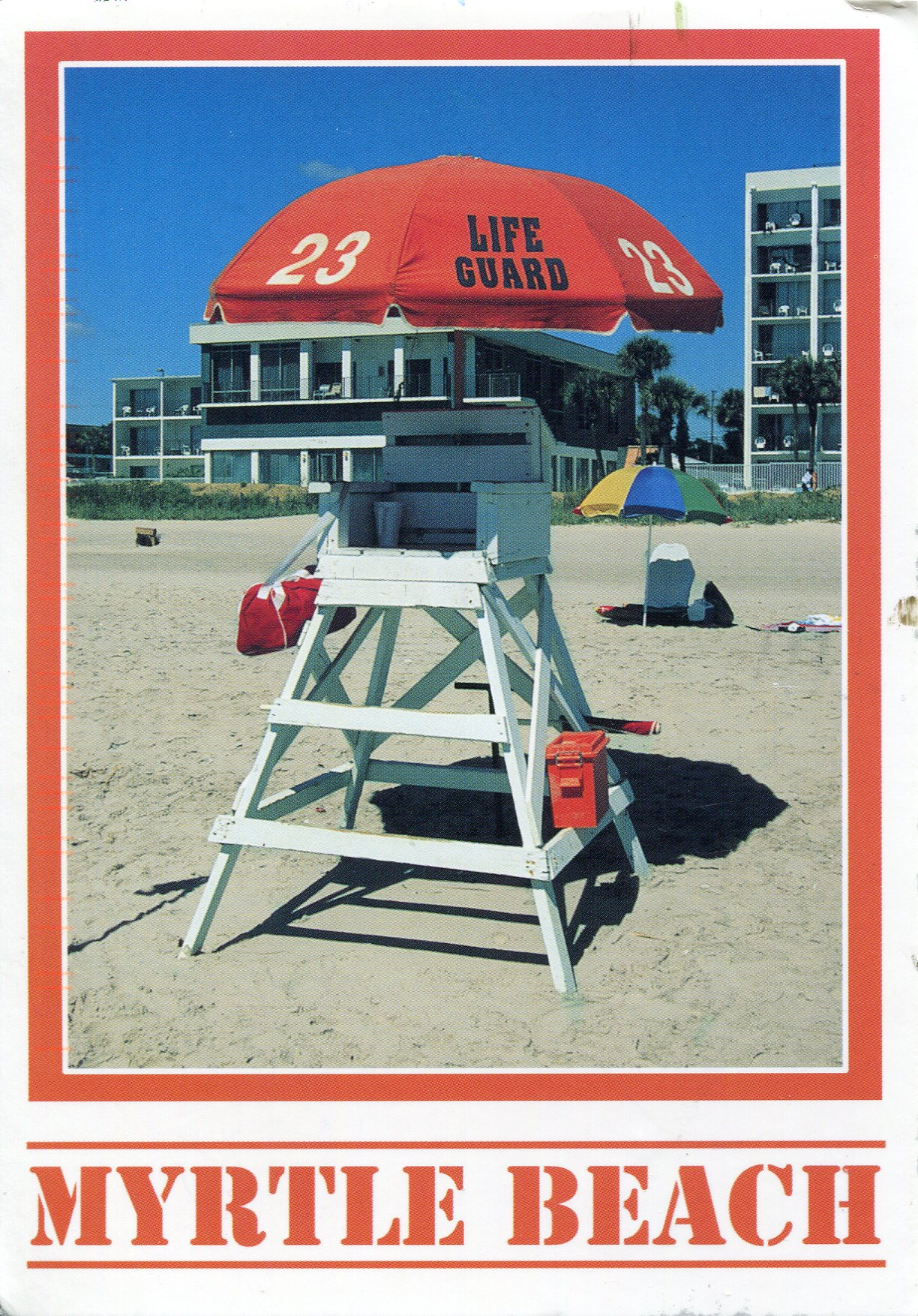 Life Guard Chair in Myrtle Beach