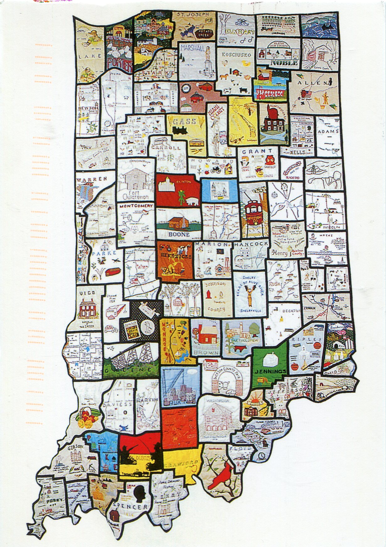 Map Of Indiana Natural Resources Submited Images