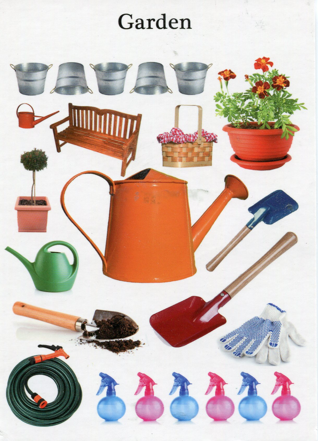 Garden tools remembering letters and postcards for Gardening tools pakistan