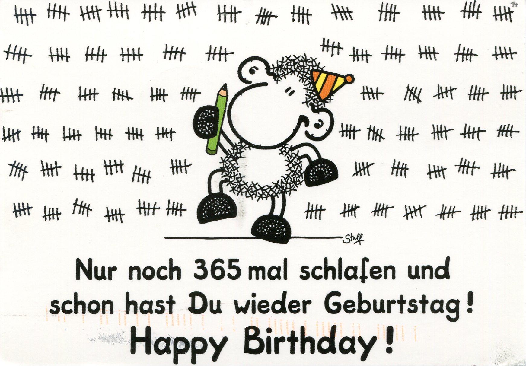 Картинка поздравление с днем рождения на немецком 71