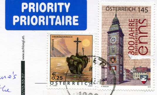 Austria - Schoenbrunn Castle stamps
