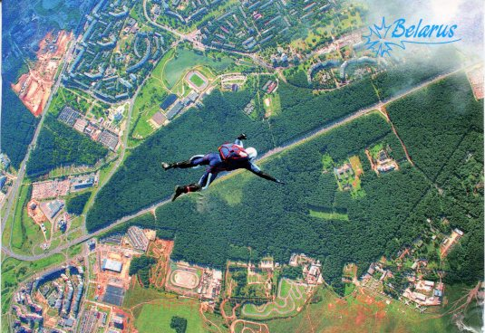Belarus - Skydiving