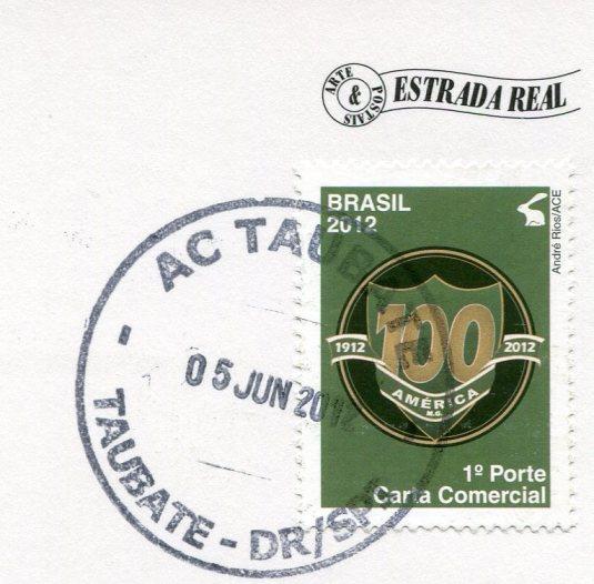 Brazil - Ponte do Falcao stamps