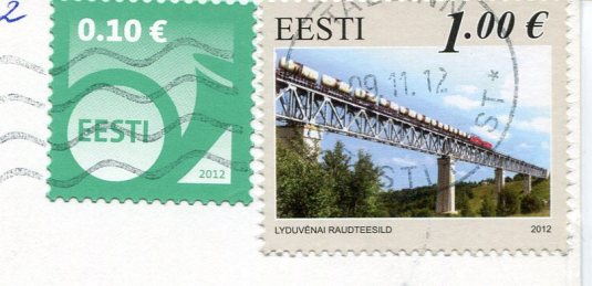 Estonia - Tallinn Town Hall stamps
