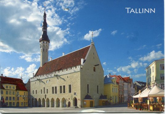 Estonia - Tallinn Town Hall