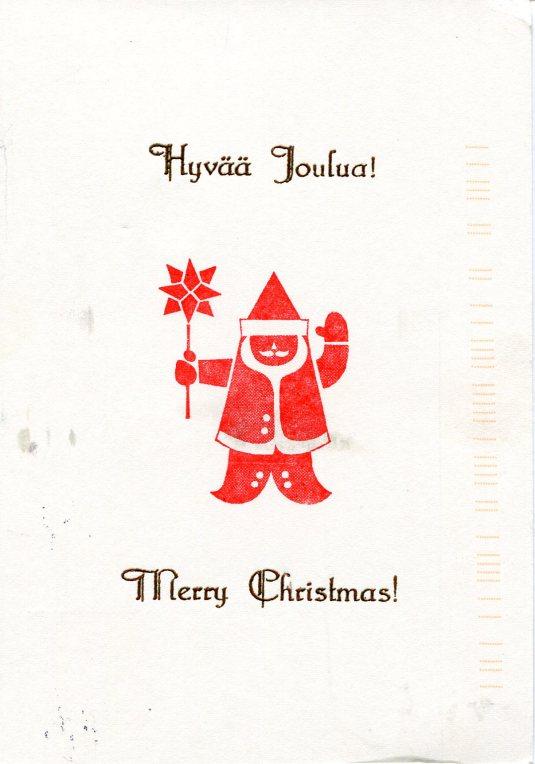 Folk Art Christmas Cards