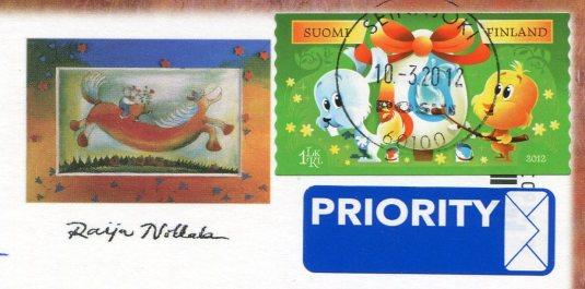 Finland - Nokkala - Ruukkupuutarha stamps