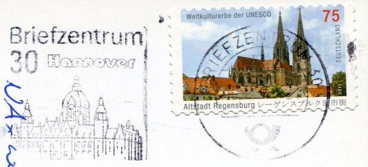 Germany - Cornflower stamps