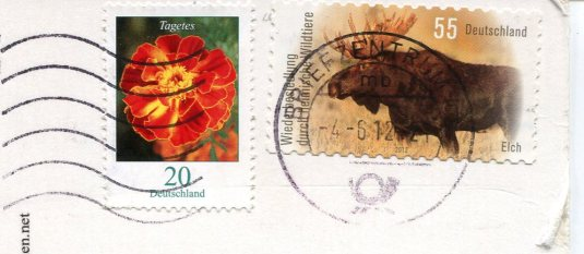 Germany - Telescope stamps