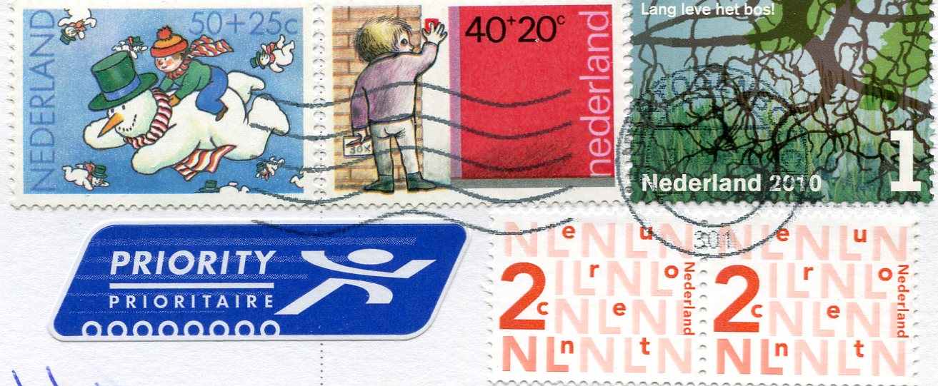 Netherlands – Christmas Card stamps   Remembering Letters and Postcards