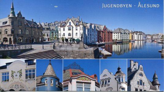 Norway - Jugendbyen Alesund