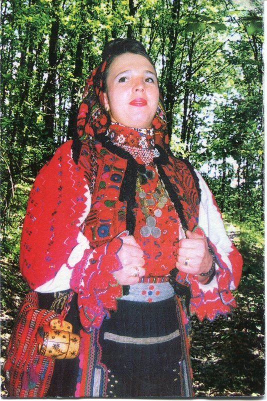 Romania - Folklore Singer