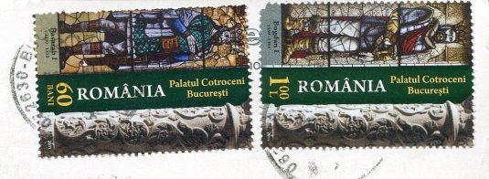 Romania - Sinata stamps