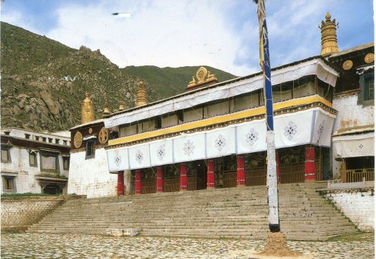 Tibet - Grand Hall of Drepung Monastery