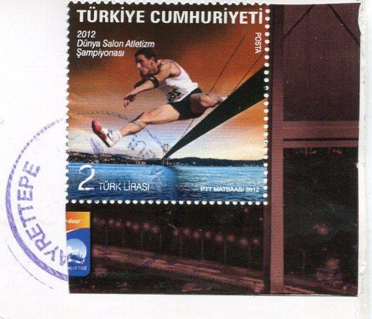 Turkey - Leander's Tower stamp