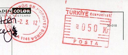 Turkey - Ruins stamps