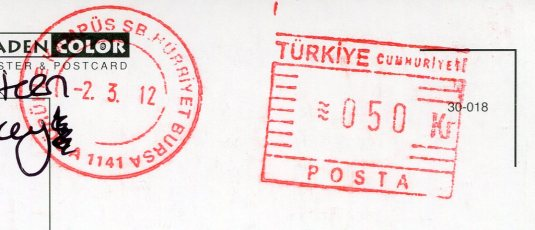 Turkey - Ruins stamps