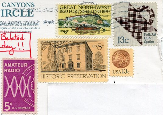 USA - Colorado - Spruce Tree House stamps