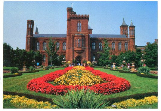 USA - DC - Smithsonian castle
