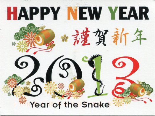 USA - Z - Happy New Year Snake
