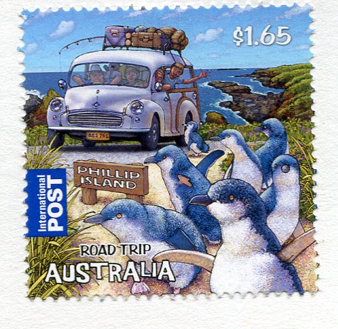 Australia - Kitten stamps