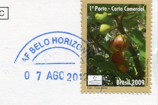 Brazil - Airport Iguacu stamps