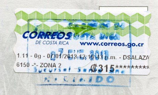 Costa Rica - Gandoca-Manzanillo stamps