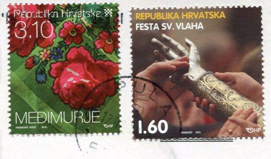Croatia - Seagull stamps