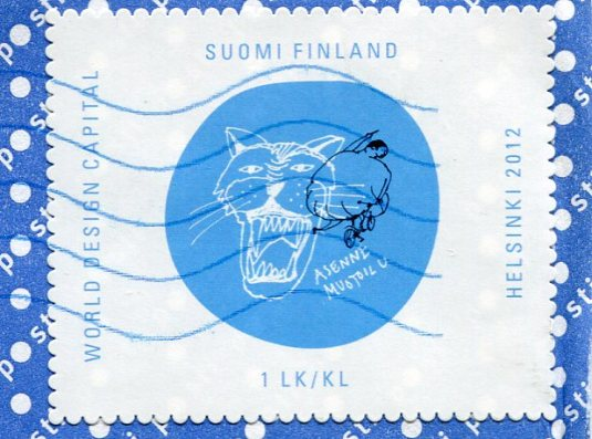 Finland  - Squirrel stamps