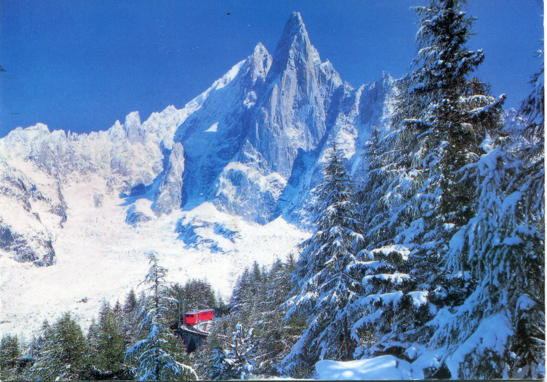 Chamonix Mont Blanc France  city images : Mount Blanc | Remembering Letters and Postcards